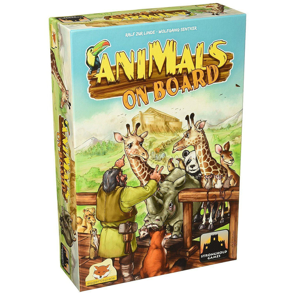 Animals On Board - Board Game - Cubox Australia
