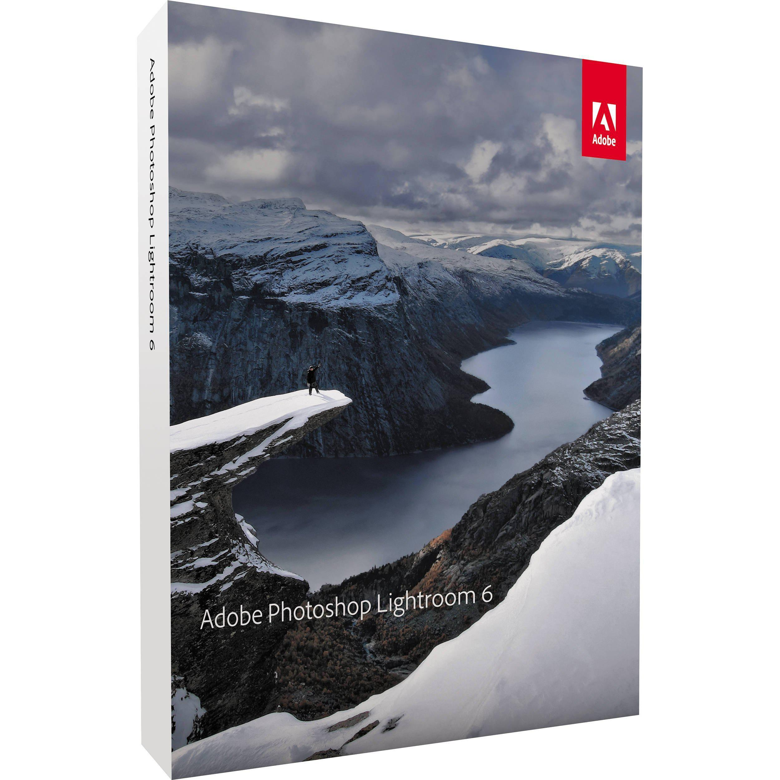 Adobe Lightroom 6 Multiple Platform Retail