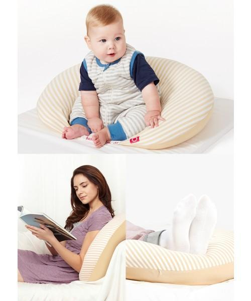 Mamaway Medical Grade Hypoallergenic 3-in-1 Maternity Support & Nursing Pillow
