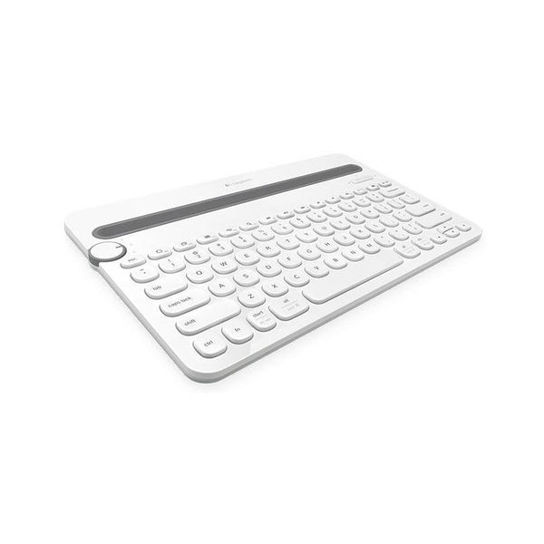 Logitech K480 Bluetooth Multi-Device Keyboard - White - Cubox Australia