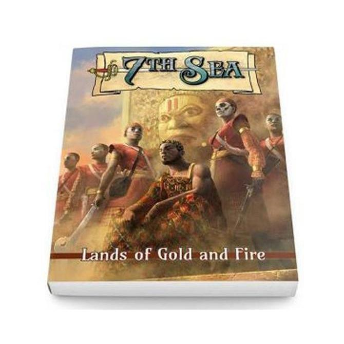 7th Sea: Lands of Gold and Fire Board Game
