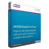 MYOB Kounta Business Box (1YR Subscription) - Cubox Australia