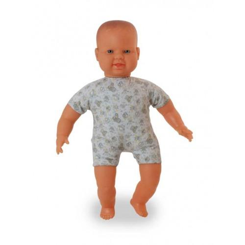 Miniland Doll Soft Bodied with articulated head Caucasian 40 cm