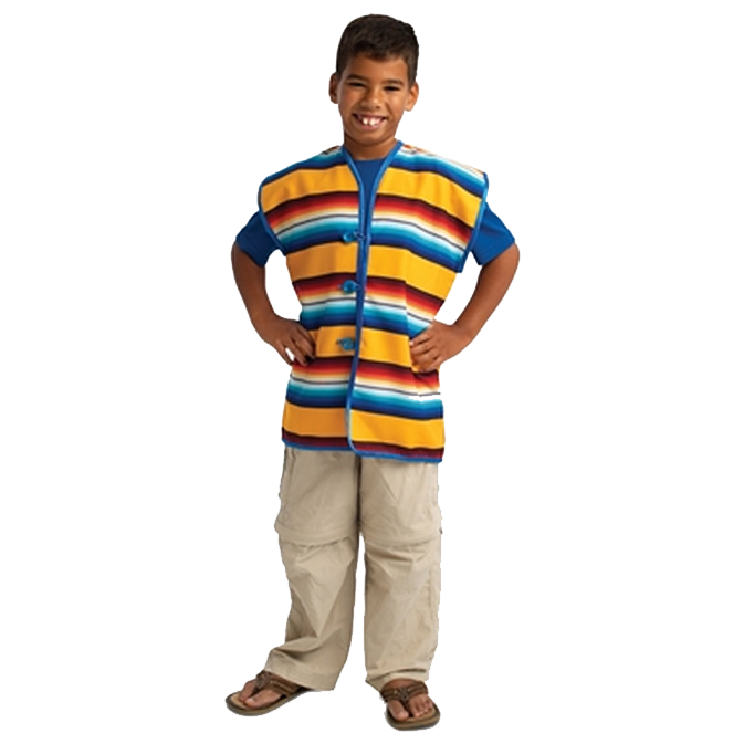Mexican Chaleco Kids Costume-Cubox Australia