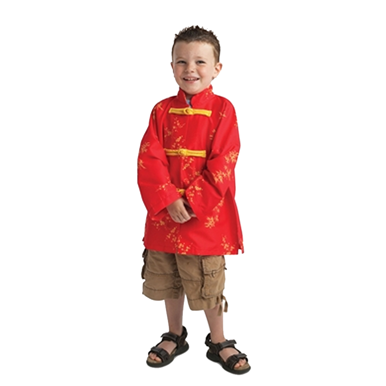Chinese Happy Jacket Kids Costume-Cubox Australia