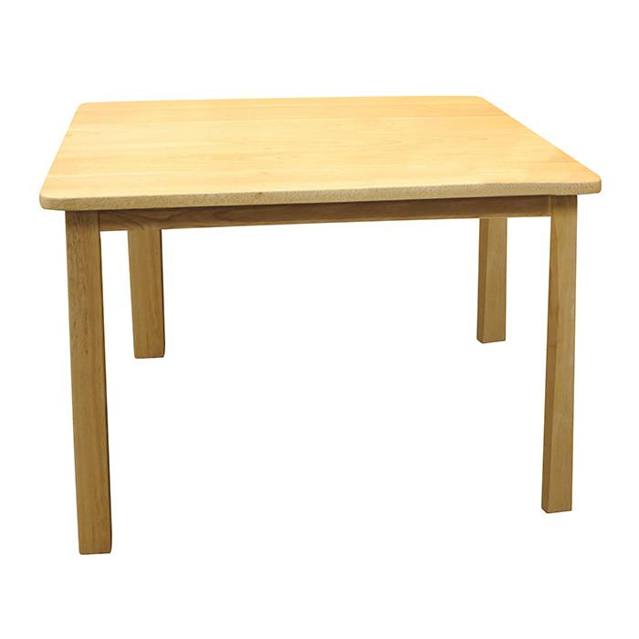Santoys Wooden Square Table