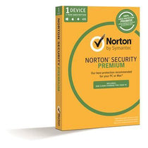 Symantec Norton Security Premium 3.0 2GB 1 User 1 Device 1 Year - Cubox Australia