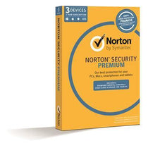 Symantec Norton Security Premium 3.0 2GB 1 User 3 Device 1 Year - Cubox Australia