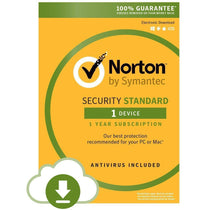 Symantec Norton Security Standard 3.0 OEM For 1 PC or MAC (Download) - Cubox Australia