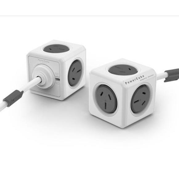 Allocacoc PowerCube Grey