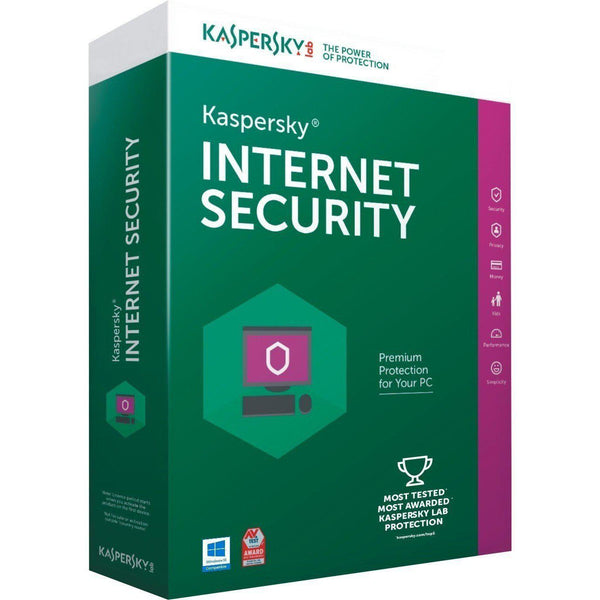 Kaspersky Internet Security 3 PC 1 Year (Download) - Cubox Australia