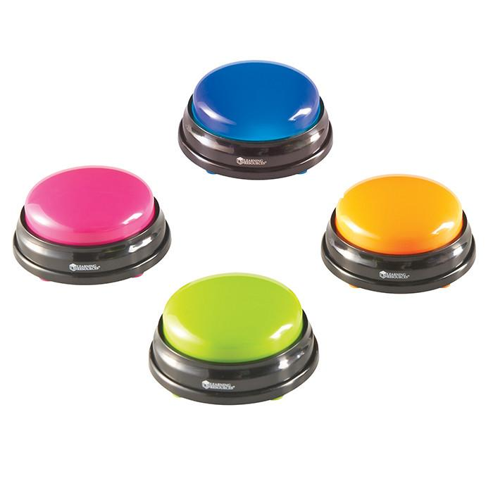 Learning Resources Answer Buzzers Set of 4