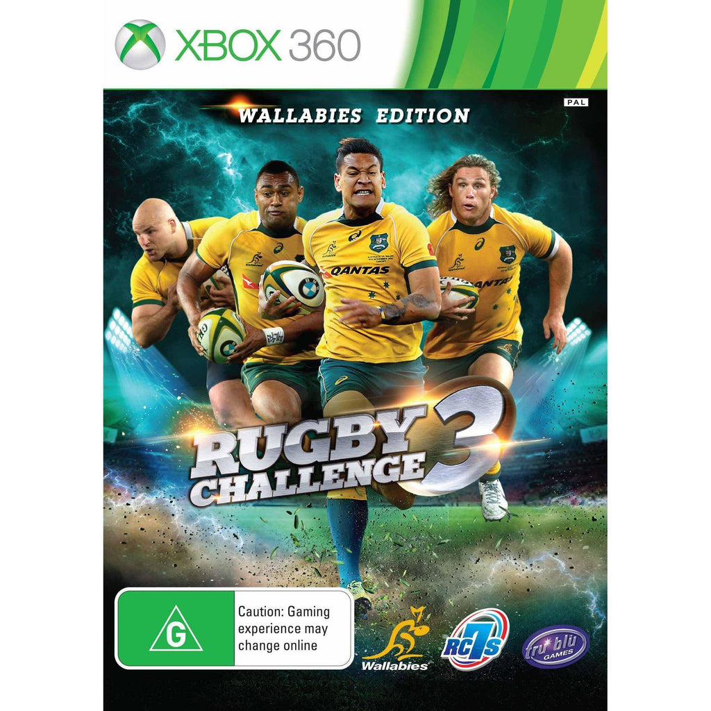 Rugby Challenge 3 - Wallabies Edition Xbox 360
