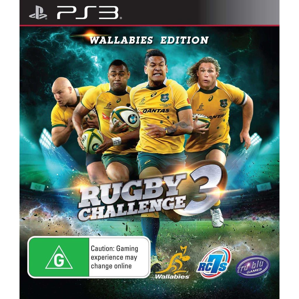Rugby Challenge 3 - Wallabies Edition PS3