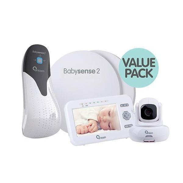 Oricom Babysense 2 and Secure 850 Value Pack