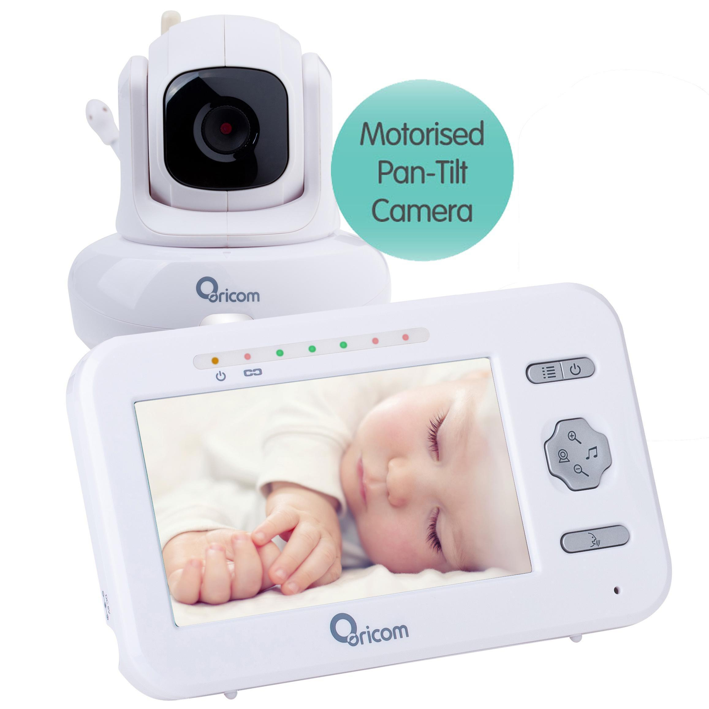 "Oricom Secure 850 4.3"" Digital Video Baby Monitor with Pan-Tilt Camera"