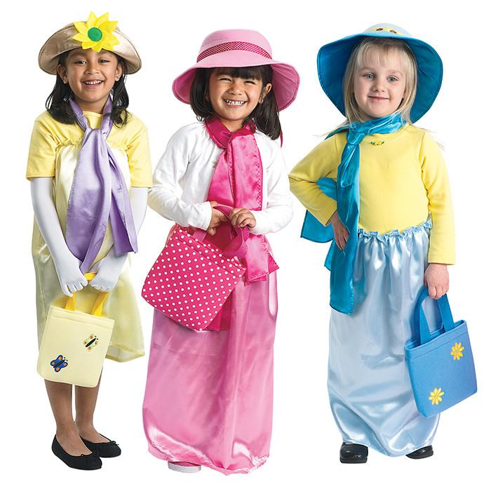 Ladies Dress Up Set 12 Pieces Kids Costume