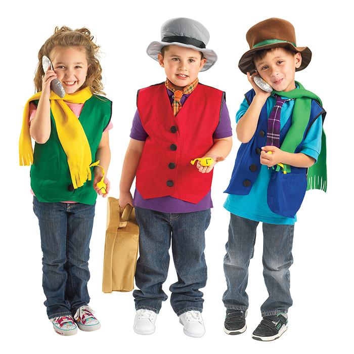 Gentlemans Dress Up Set 12 Pieces Kids Costume