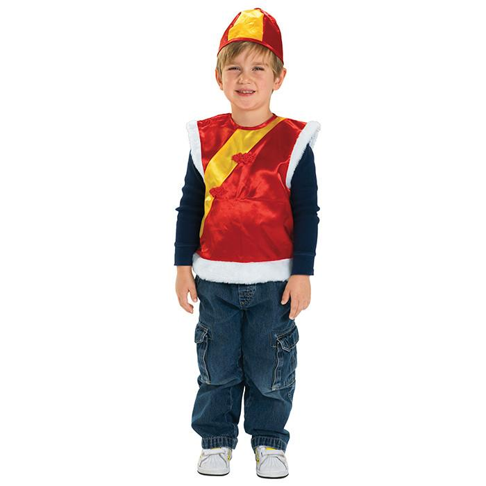 Chinese Vest and Hat Kids Costume-Cubox Australia