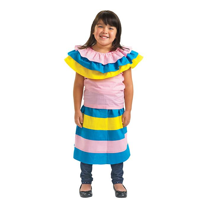 Mexican Dress Kids Costume-Cubox Australia