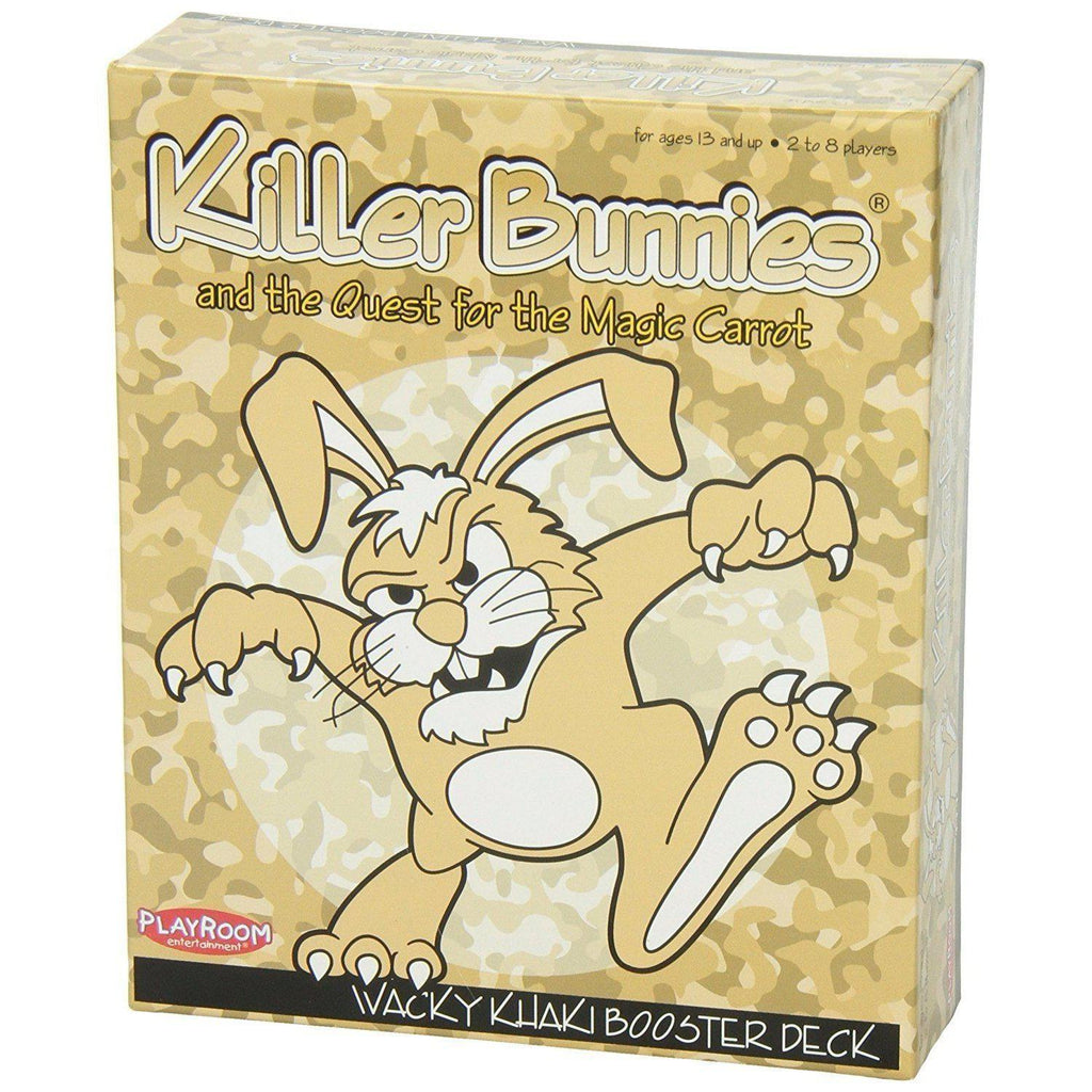 Killer Bunnies The Quest For The Magic Carrot Comple Attractive Appearance Wacky Khaki Booster Deck