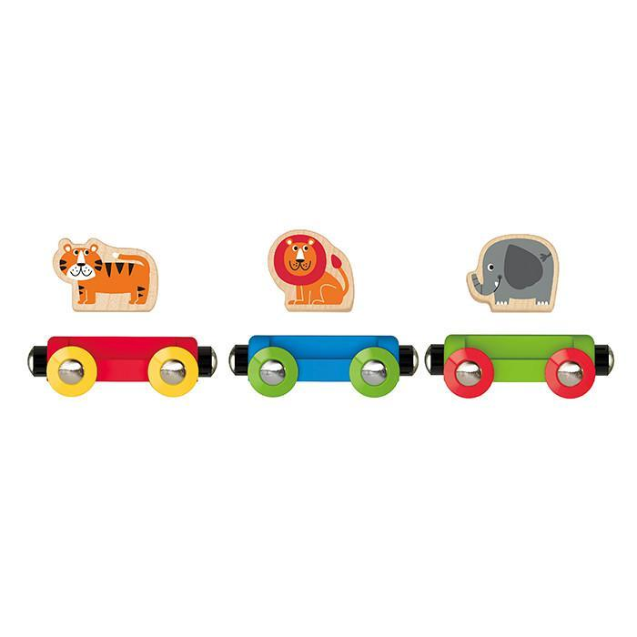 Hape Jungle Journey Train 6 Pieces