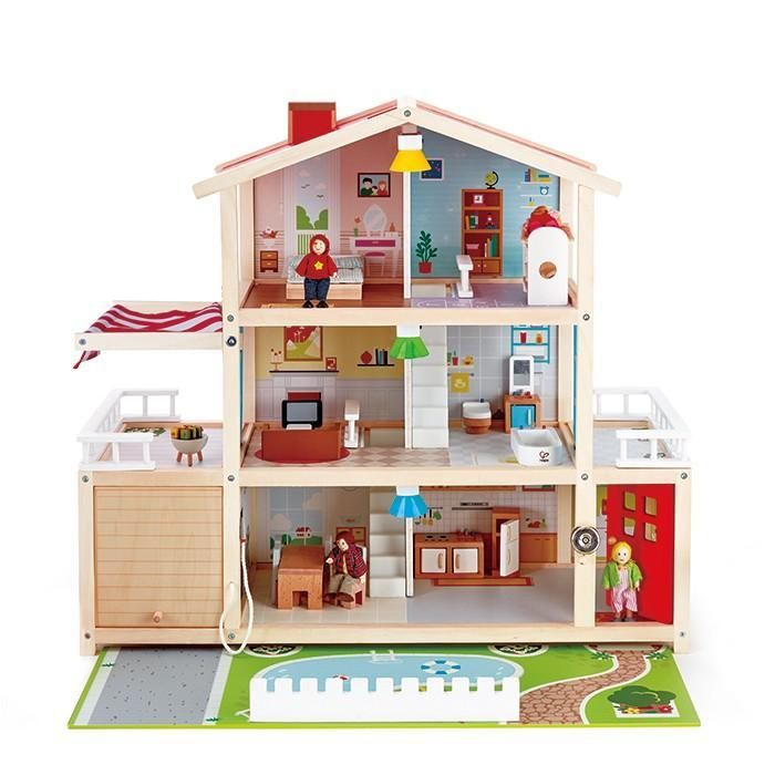 Hape Doll Family Mansion 29 Pieces