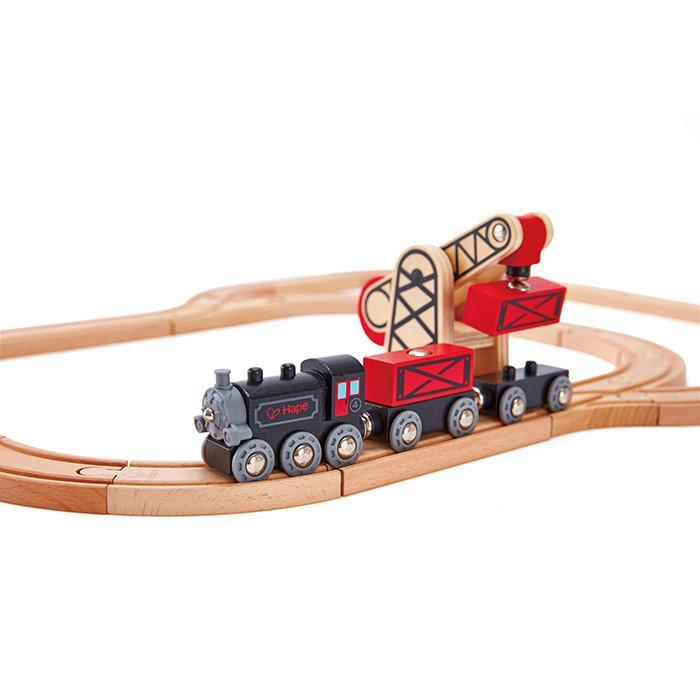 Hape Steam Era Freight Train 5 Pieces