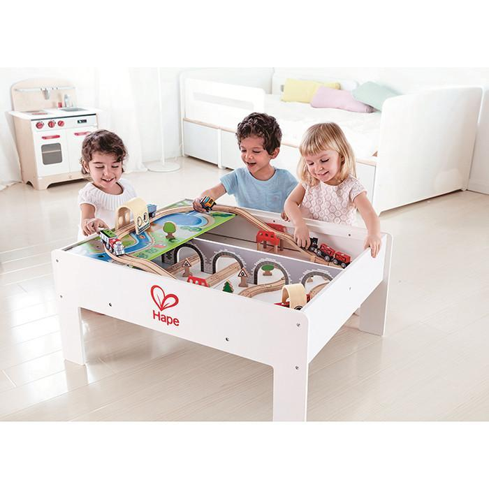 Hape Reversible Train Storage Table