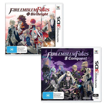 Fire Emblem Fates Birthright & Conquest Bundle - Cubox Australia