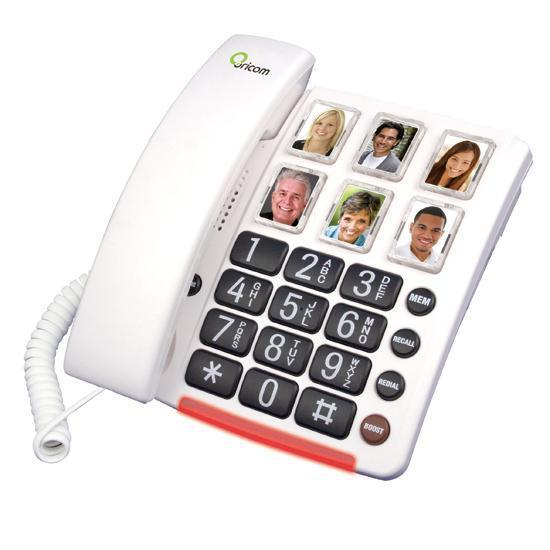 Oricom CARE80 Amplified Phone With Picture Dialling - Cubox Australia