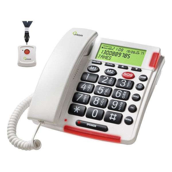Oricom CARE170 Speakerphone with Emergency Call Function - Cubox Australia