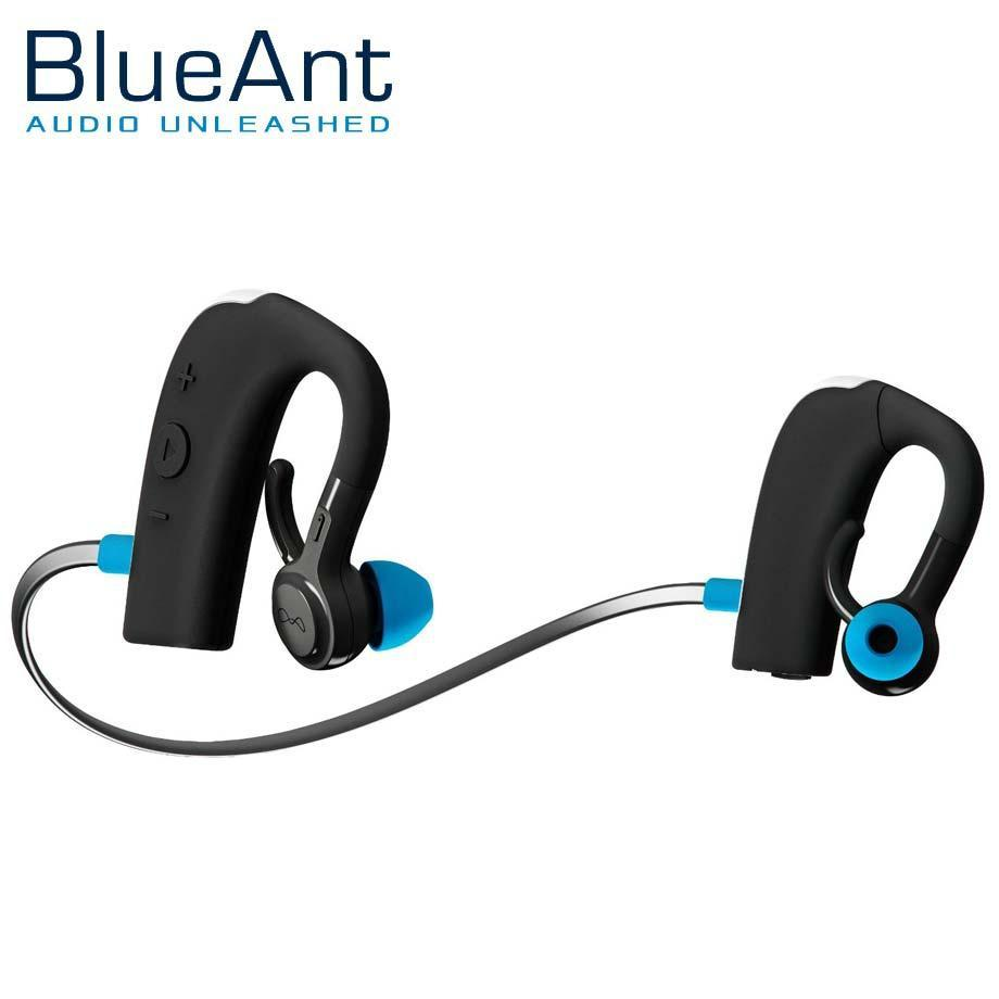 BlueAnt Pump 2 Wireless Bluetooth HD Audio Sport Earphones - Black