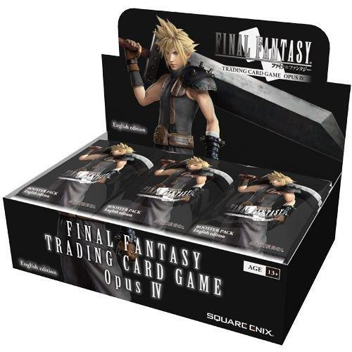 Final Fantasy Trading Card Game Opus IV Display Booster