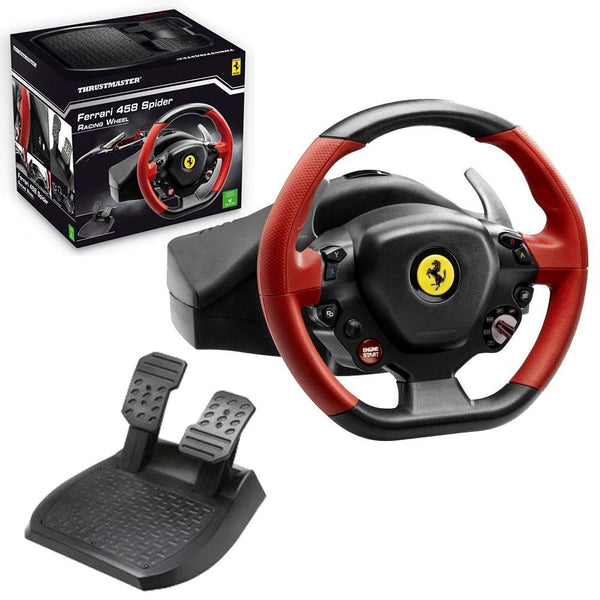 Thrustmaster Ferrari 458 Spider Racing Wheel For Xbox One - Cubox Australia