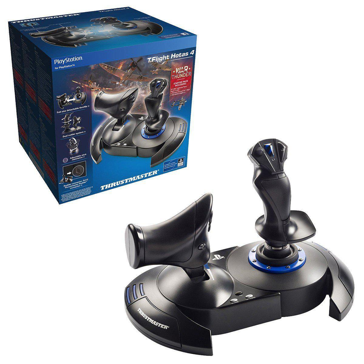 Thrustmaster T.Flight HOTAS 4 Joystick For PC & PS4 - Cubox Australia