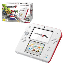 Nintendo 2DS Console White Red with Mario Kart 7 - Cubox Australia