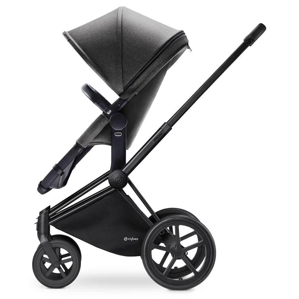 Cybex Baby Priam 2 in 1 Manhattan Grey ( with matt black trekking frame ) - Cubox Australia