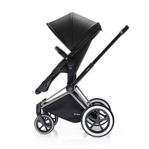 Cybex Baby Priam 2 in 1 Happy Black ( with chrome trekking frame ) - Cubox Australia