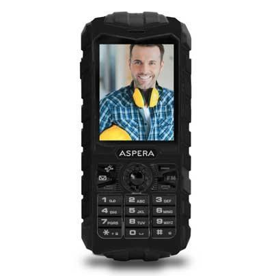 Aspera R25 3G Rugged Feature Phone Black - Cubox Australia