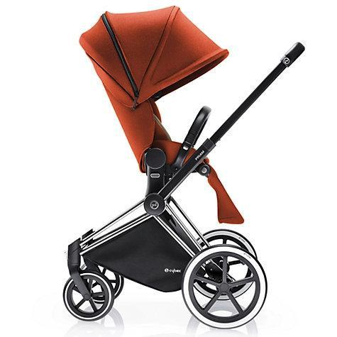 Cybex Baby Priam Luxseat Autumn Gold ( with chrome trekking frame ) - Cubox Australia