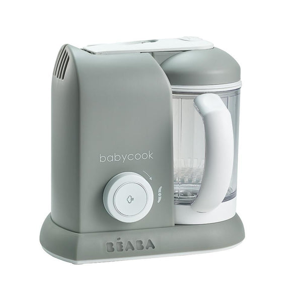 Beaba Babycook Solo baby food processor Cloud Grey - Cubox Australia