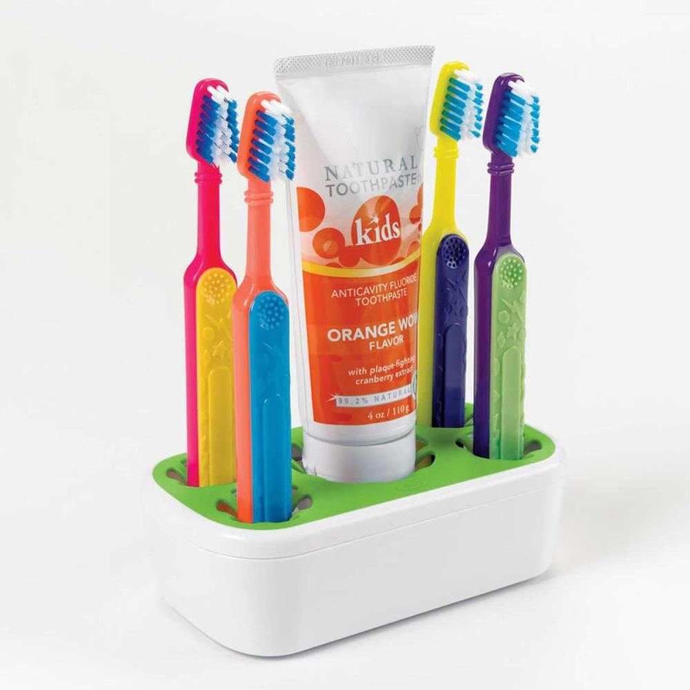 Oxo Tot Tooth brushing Station Green