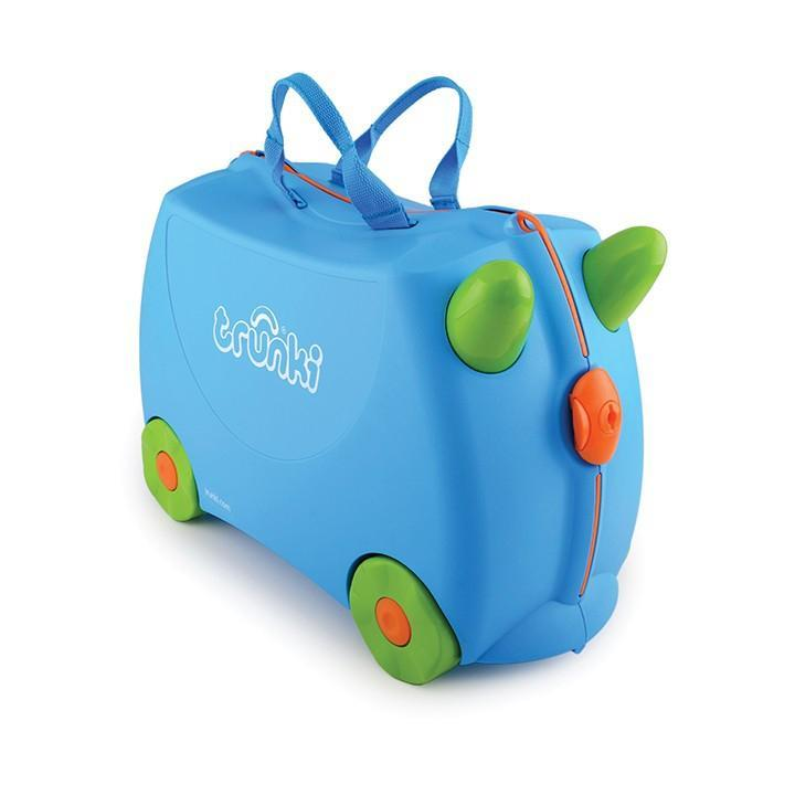 Trunki Terrance Ride On Suitcase - Cubox Australia