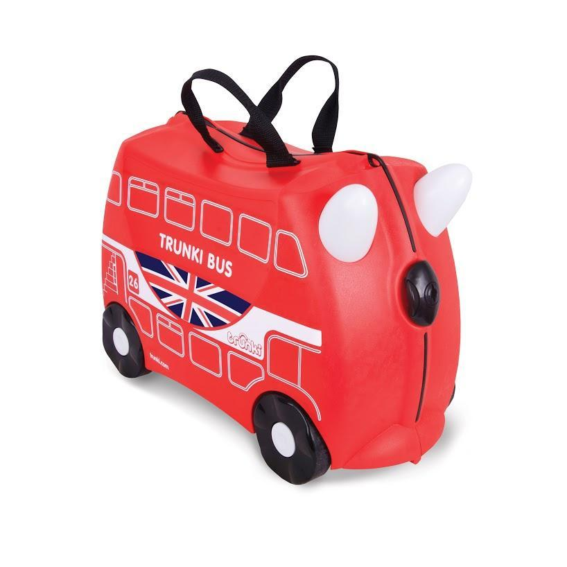 Trunki London Boris Bus Ride On Suitcase