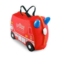 Trunki Fire Engine Frank Ride On Suitcase - Cubox Australia