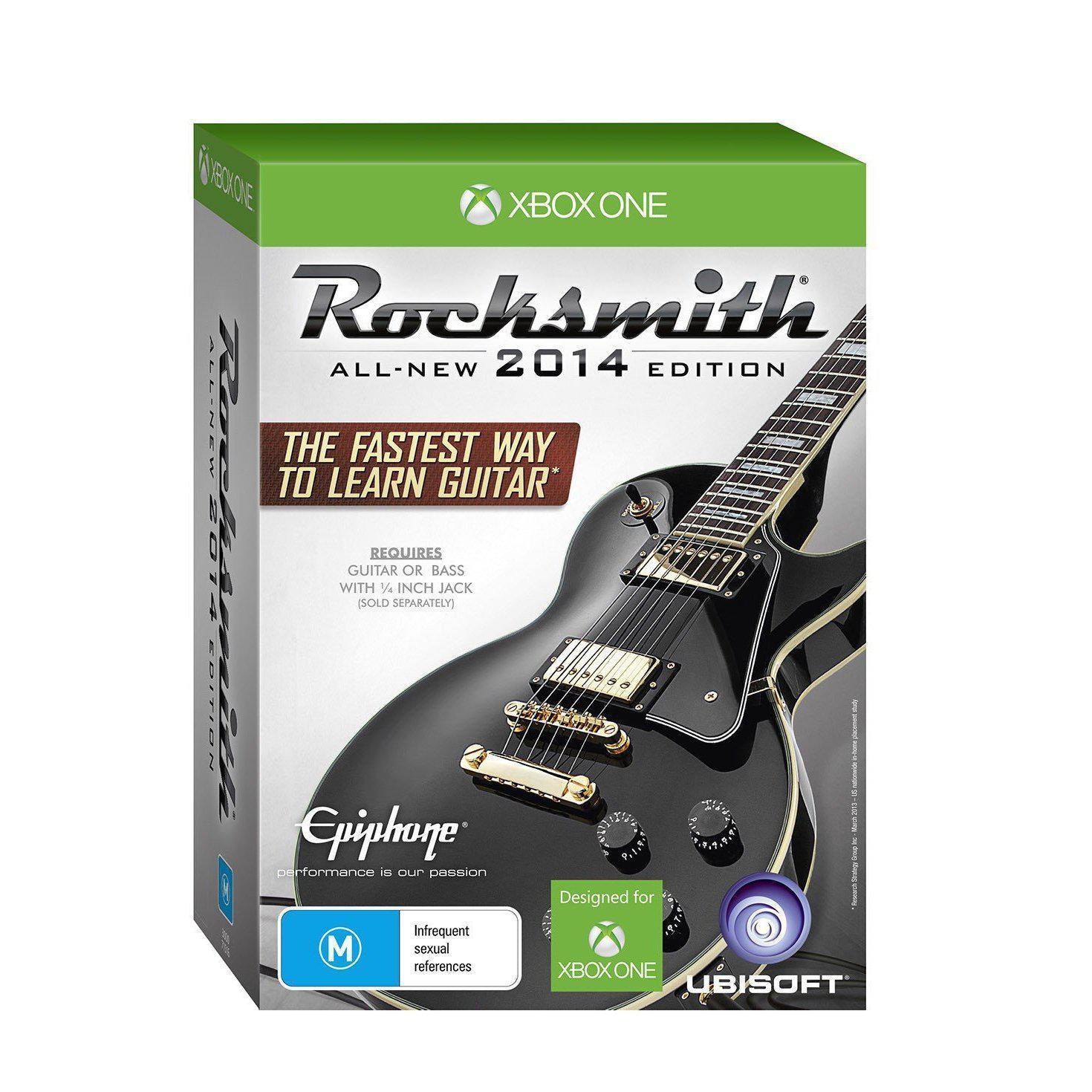 Rocksmith 2014 With Real Tone Cable Xbox One