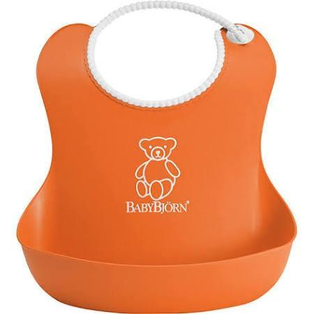 BabyBjorn Soft Bib Orange - Cubox Australia