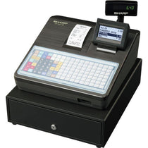 SHARP XEA217B Cash Register with Flat Keyboard - Black - Cubox Australia
