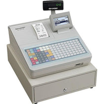 SHARP XEA217W Cash Register with Flat Keyboard - White - Cubox Australia